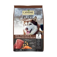 Canidae Dog Grain Free Pure Wild Wild Boar and Garbanzo Bean Dry Dog Food - 10.8kg