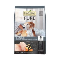 Canidae Dog Grain Free Senior Pure Meadow Chicken, Sweet Potato and Garbanzo Bean Dry Dog Food - 10.8kg