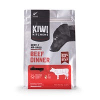 Kiwi Kitchens Dog Air Dried Beef Dinner Dry Dog Food - 1kg