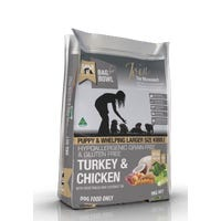 Meals For Mutts Puppy Turkey and Chicken Large Kibble Dry Dog Food - 9kg