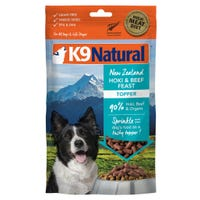 K9 Naturals Freeze Dried Beef and Hoki Topper Dry Dog Food - 100g