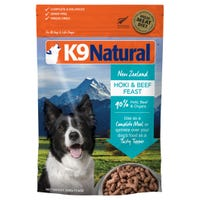 K9 Naturals Freeze Dried Beef and Hoki Feast Dry Dog Food - 500g