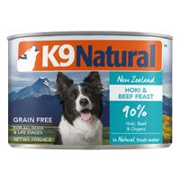 K9 Naturals Beef and Hoki Feast Wet Dog Food - 170g