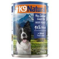 K9 Naturals Beef Feast Wet Dog Food - 370g