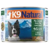 K9 Naturals Lamb Feast Wet Dog Food - 170g