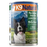 K9 Naturals Lamb Feast Wet Dog Food - 370g