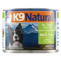 K9 Naturals Lamb Green Tripe Feast Wet Dog Food - 170g