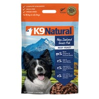 K9 Naturals Freeze Dried Beef Feast Dry Dog Food - 3.6kg