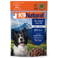 K9 Naturals Freeze Dried Beef Feast Dry Dog Food - 500g