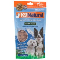 K9 Naturals Freeze Dried Lamb Feast Topper Dry Dog Food - 142g
