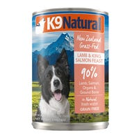K9 Naturals Salmon Feast Wet Dog Food - 370g