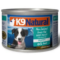 K9 Naturals Puppy Beef and Hoki Feast Wet Dog Food - 170g
