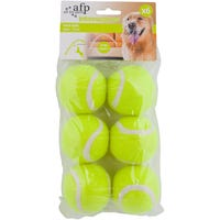 All For Paws Dog Toy Maxi Teni Ball Dog Toy - 6pk