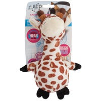 All For Paws Dog Toy Ultrasonic Giraffe Dog Toy - Each