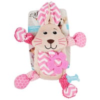 All For Paws Puppy Toy Comforting Bunny Dog Toy - Each