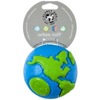 Planet Dog Orbee Tuff Blue and Green Dog Toy - Large