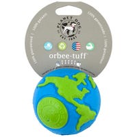 Planet Dog Orbee Tuff Blue and Green Dog Toy - Medium
