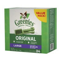 Greenies Original Large Dental Dog Treats Value Pack 1kg - 24pk