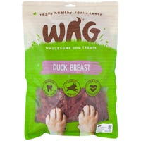 WAG Duck Breast Dog Treats - 750g