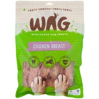 WAG Chicken Breast Dog Treats - 750g