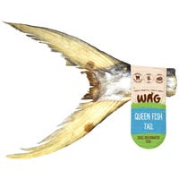 WAG Queen Fish Tail Dog Treat - Each