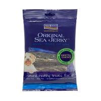 Fish 4 Dogs Sea Jerky Fish Strips Dental Chews Dog Treats - 100g