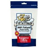 Fit'N'Flash Kangaroo Fillets Dog Treats - 60g