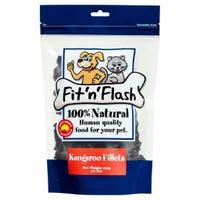Fit'N'Flash Kangaroo Fillets Dog Treats - 120g