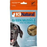 K9 Natural Freeze Dried Green Mussels Healthy Snacks Dog Treats - 50g