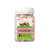 WAG Strawberry Yoghurt Drops Dog Treats - 250g