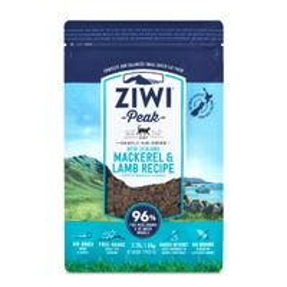 Ziwi Peak Cat Air Dried Grain Free Mackerel and Lamb Recipe Dry Cat Food - 1kg