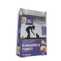 Meals For Meows Feline Grain Free Kangaroo and Turkey Dry Cat Food - 9kg