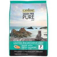 Canidae Feline Grain Free Pure Sea Salmon Dry Cat Food - 1.1kg