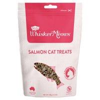 Whisker Meows Natural Salmon Cat Treats - 100g