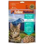 Feline Naturals Freeze Dried Beef and Hoki Feast Dry Cat Food - 320g