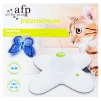 All For Paws Interactive Flutter Bug Cat Toy - Each