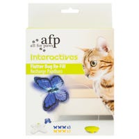 All For Paws Flutter Bug Refill Cat Toy - 6pk