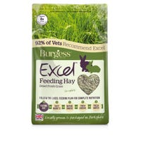 Burgess Excel Dried Fresh Grass Feeding Hay - 1kg