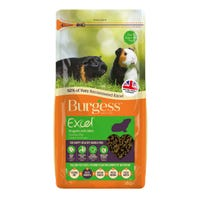 Burgess Guinea Pig Nuggets with Mint Guinea Pig Food - 2kg