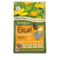 Burgess Excel Dandelion And Marigold Timothy Herbage Feeding Hay - 1kg