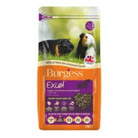 Burgess Guinea Pig Nuggets with Blackcurrant and Oregano Guinea Pig Food - 2kg