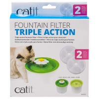 Catit 2.0 Flower Cat Fountain Replacement Filter Set - Each