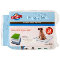 Spotty Dog Indoor Potty Pads Toilet Training Pads - 25 Pack