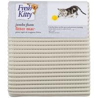 Fresh Kitty Foam Jumbo Litter Mat Beige - Each