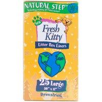 Fresh Kitty Litter Box Liners Large - 25pk
