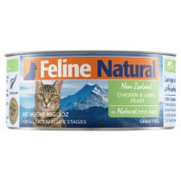 Feline Naturals Chicken and Lamb Feast Wet Cat Food - 85g