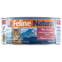 Feline Naturals Chicken and Venison Feast Wet Cat Food - 85g