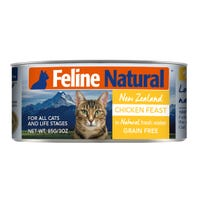 Feline Naturals Chicken Feast Wet Cat Food - 85g