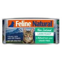 Feline Naturals Lamb Feast Wet Cat Food - 85g
