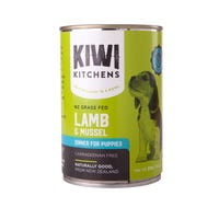 Kiwi Kitchens Puppy Lamb and Mussel Wet Dog Food - 375g